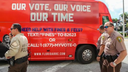 Federal Judge Rules Florida Law Restricting Voting Rights For Felons Unconstitutional