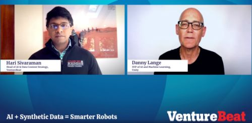 Unity's Danny Lange explains why synthetic data is better than the real thing at Transform 2021