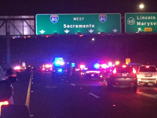 Suspect shot, killed in 'gun battle' with officers on Roseville highway