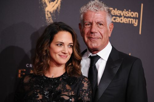 Asia Argento shares photo of Anthony Bourdain from just before his suicide