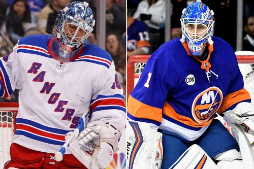 Rangers aiming to win first game at Islanders' temporary home