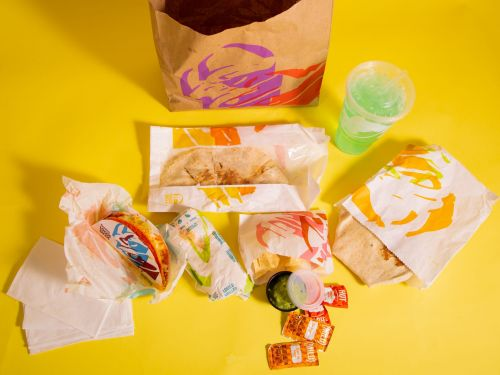 I ate at Taco Bell for the first time ever and now I'm obsessed