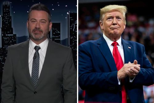 """Jimmy Kimmel Mocks Donald Trump for Telling Republicans Not to Vote: """"Did Nancy Pelosi Write This?"""""""