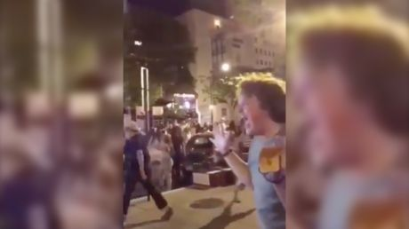 Peak Portland: WATCH as BLM protester has melodramatic meltdown during protest chaos