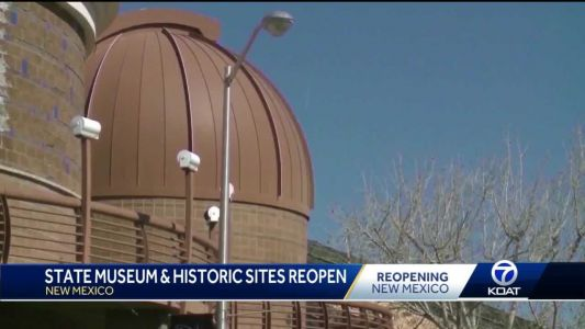 State museums and historic sites prepare to reopen Thursday