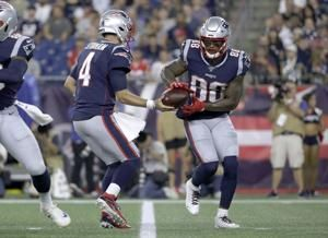 AP source: Jets acquire WR Thomas from Pats for draft pick