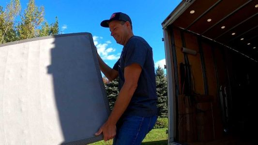 New Hampshire Chronicle: Sean tries out being a mover for a day
