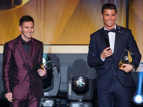 Cristiano Ronaldo just challenged Lionel Messi to leave FC Barcelona and join him in Italy