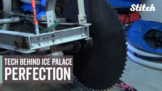 These incredible ice palaces have been made the same way since 1955