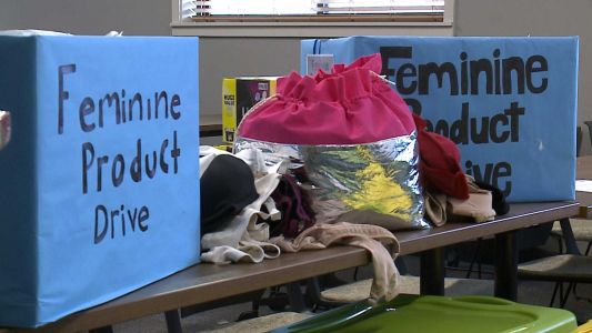 'I Support the Girls' gives dignity to homeless women, girls through feminine hygiene products