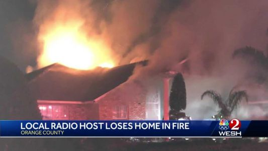 Home of well-known local radio host destroyed in fire