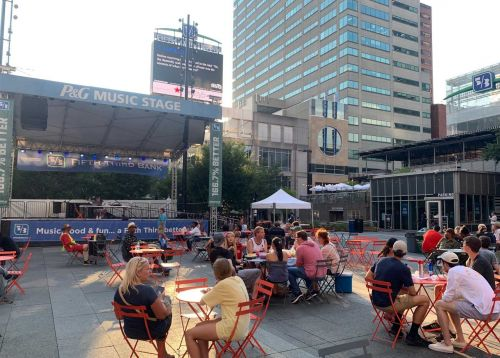 Fountain Square reopening bar, bringing back free events, live music, food trucks