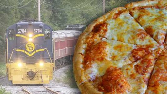There's a pizza and beer train chugging through Warren County