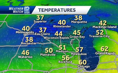 VIDEOCAST: Dry for Monday