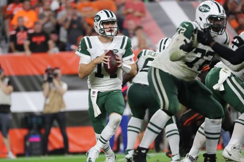 Jets offensive line gets defining test against tough Jaguars