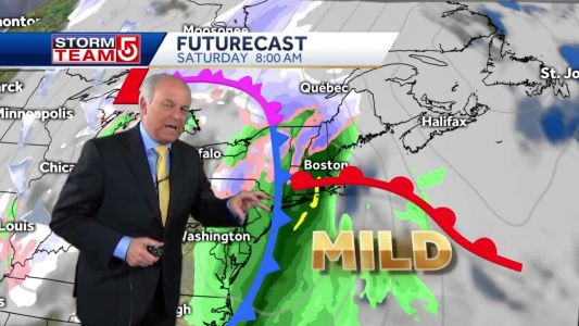 Video: Storm to impact first half of weekend