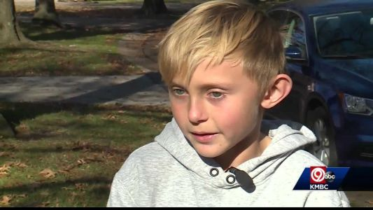 10-year-old organizes Thanksgiving Day food drive