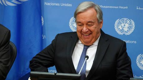 UN's Guterres says deal reached on committee for new Syria constitution