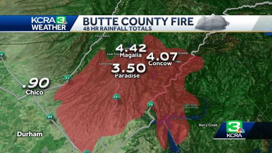 Here's how the storm could impact the Camp Fire area