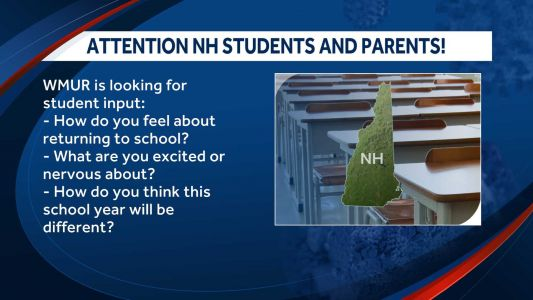 New Hampshire student input sought: How do they feel about the upcoming school year?