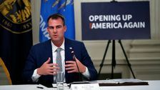 Oklahoma Governor Kevin Stitt Says He Tested Positive For COVID-19