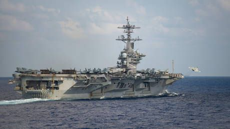 Stick to the 'chain of command'! Pentagon rejects aircraft carrier captain's plea to save crew as 100+ sailors contract Covid-19