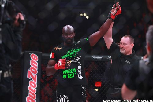 Playful Cheick Kongo is playful before Vitaly Minakov rematch at Bellator 216
