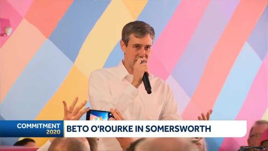 Beto O'Rourke holds meet-and-greet in Somersworth