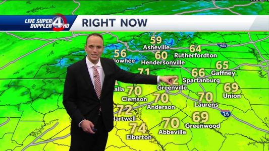 Videocast: Cooler but sunny weekend