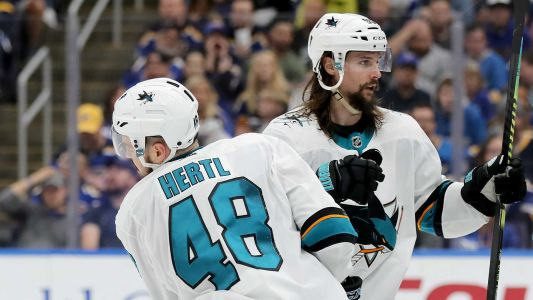 Sharks injury update: Erik Karlsson, Joe Pavelski and Thomas Hertl uncertain for Game 6 at Blues