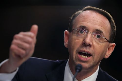 House Republicans take first steps to impeach Rod Rosenstein