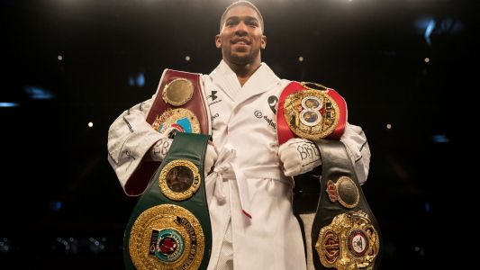 Who is Anthony Joshua, the WBA, WBO and IBF heavyweight boxing champion of the world