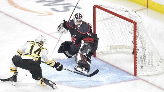 NHL playoffs 2019: Chris Wagner comes up clutch again as Bruins take stranglehold of East finals