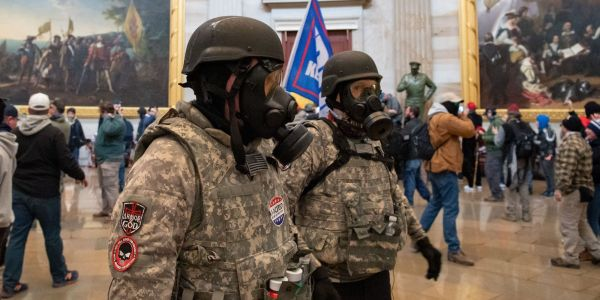 Far-right groups like the Proud Boys and Oath Keepers are splintering and realigning after the Capitol riot, report says