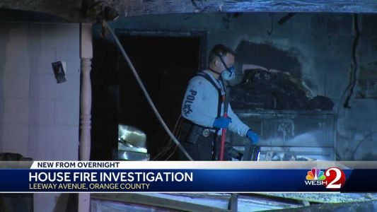Family escapes fire at Orange County home