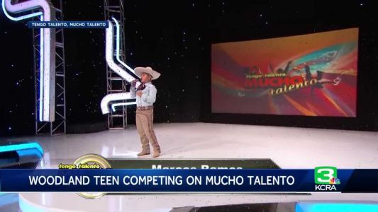 This teen took his mariachi singing talents to the national stage
