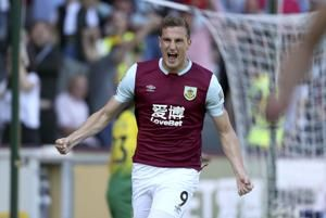 Norwich back down to earth with 2-0 loss at Burnley