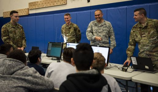 Schriever AFB hosts STEM day event for local students