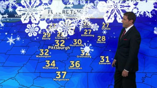 Cold, possible snow showers