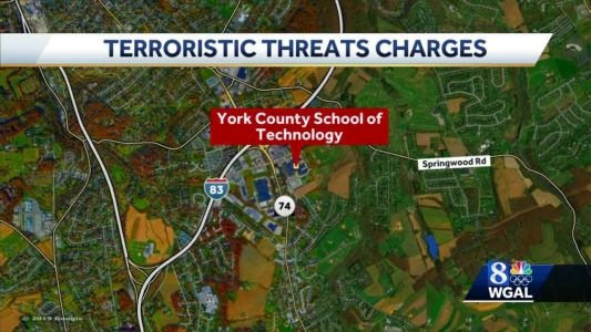 Teen charged with making threat toward York County School of Technology