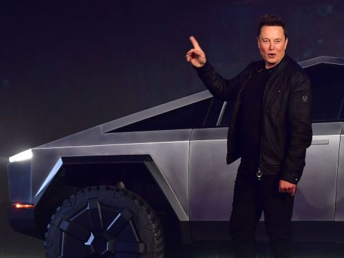 Elon Musk says Tesla will create a normal pickup truck if the Cybertruck doesn't sell, as a 'fallback strategy'