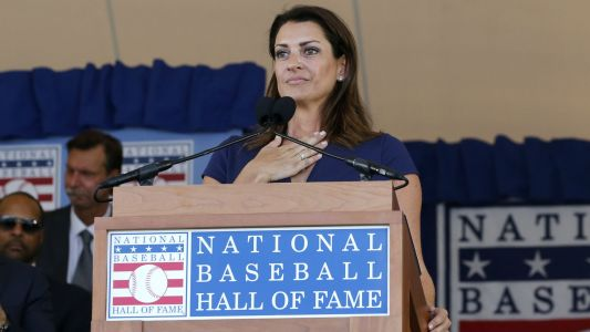 Baseball Hall of Fame 2019: Brandy Halladay delivers emotional speech honoring late husband Roy
