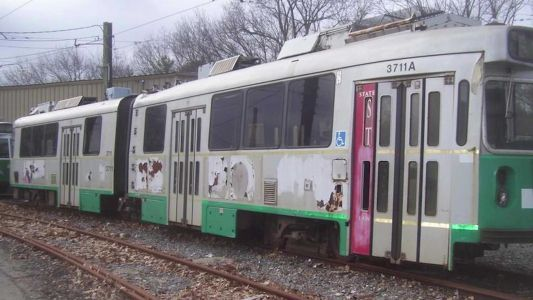 Here's your chance to own your own vintage MBTA trolley car