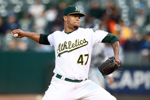 MLB hands A's pitcher Frankie Montas 80-game ban for PEDs