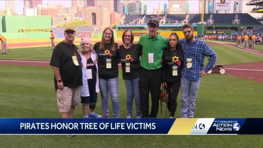 2 Tree of Life victims remembered at Pirates game