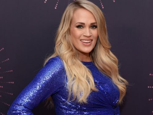 Carrie Underwood revealed that she's expecting a boy