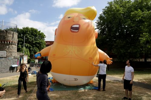 Trump baby protest blimp enters Museum of London collection