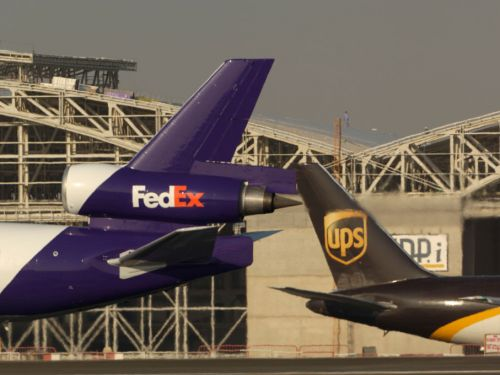 UBS is forecasting that Asia revenues at UPS and FedEx will slump by 70% as coronavirus poleaxes global trade