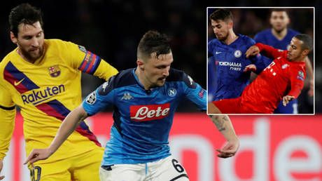 Crunch time: Quique Setien convinced Barcelona will see off Napoli as Bayern host Chelsea in Champions League quarterfinal chase