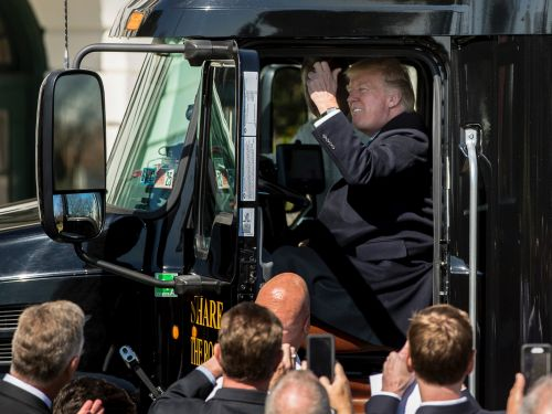 Truckers voted for Donald Trump in droves. Now, they say his trade war is 'killing' their ability to make a living